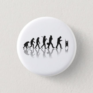 Evolved Humanist 3 Cm Round Badge