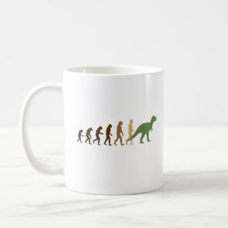 Evolving back to Dinosaurs -- - Pro-Science - Coffee Mug