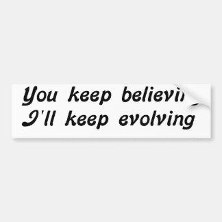 Evolving Bumper Sticker
