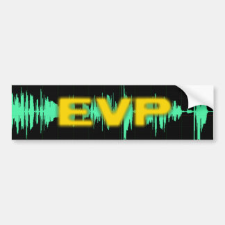 EVP Bumper Sticker
