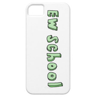 """Ew school"" iphone 5 case"