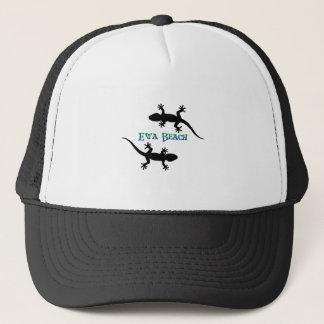 ewa beach geckos trucker hat