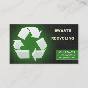 Metal recycling business cards zazzle au ewaste recycling business cards design 1 colourmoves