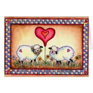 EWE ARE SEW SPECIAL by SHARON SHARPE Greeting Card