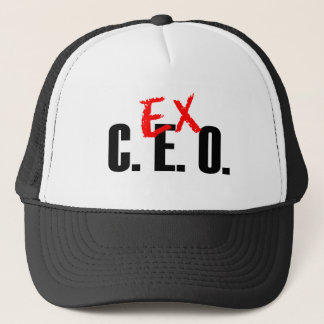 EX CEO LIGHT TRUCKER HAT