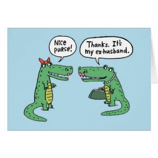 Ex-husband - Greeting Card