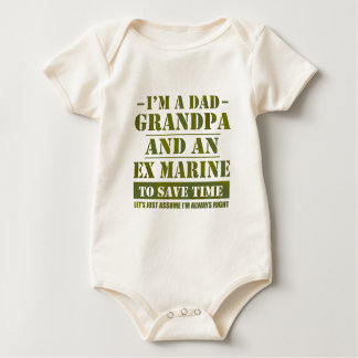 Ex Marine Baby Bodysuit