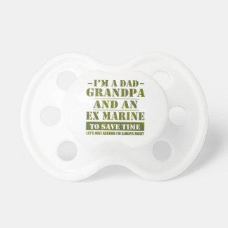 Ex Marine Baby Pacifier