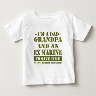 Ex Marine Baby T-Shirt