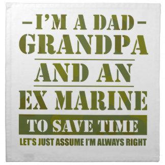 Ex Marine Napkin