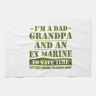 Ex Marine Tea Towel