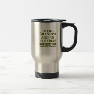 Ex Marine Travel Mug