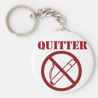 Ex Smoker because Im a QUITTER Key Ring