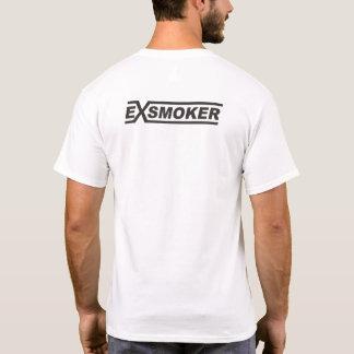 Ex Smoker White T-Shirt