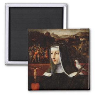 Ex Voto dedicated to St. Catherine of Siena Magnet