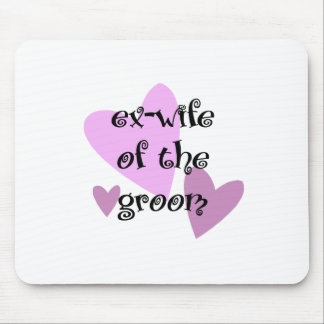 Ex-Wife of the Groom Mouse Mats