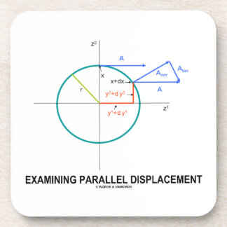 Examining Parallel Displacement Geometry Beverage Coaster