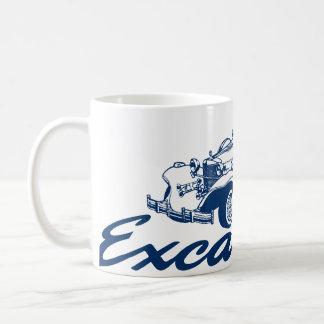 Excalibur Classic Script Logo Coffee Mug