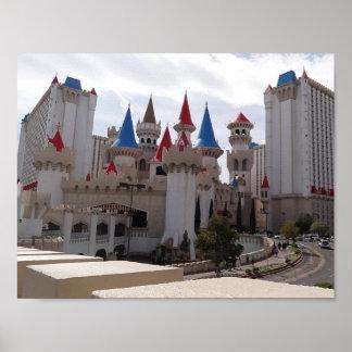 Excalibur Hotel & Casino Poster