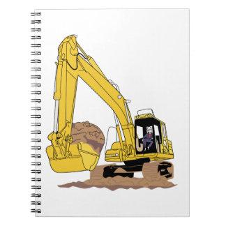 Excavator Note Book