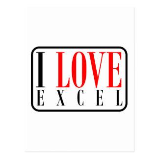 Excel, Alabama Postcard