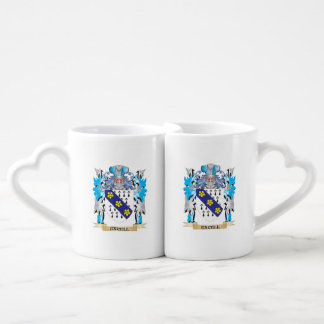 Excell Coat of Arms - Family Crest Lovers Mug Sets
