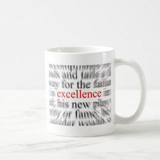 Excellence Basic White Mug