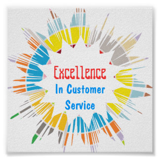 Excellence :  Edit text to your own OCCASION Poster