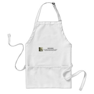 excellence-in-all-you-pursue-always-give-it-your standard apron