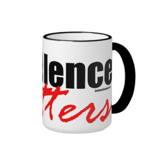 Excellence Matters Coffee Mugs