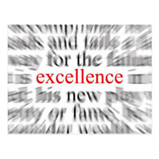 Excellence Post Cards