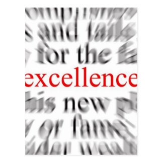 Excellence Postcards