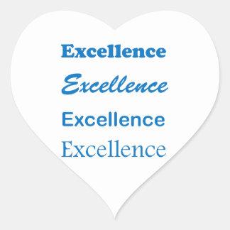 EXCELLENCE Standard Coach Mentor Sports School GIF Heart Sticker