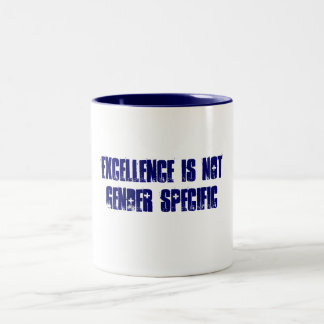 Excellence Two-Tone Mug