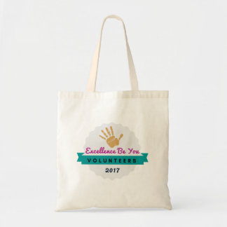 Excellence Volunteers Tote Gold