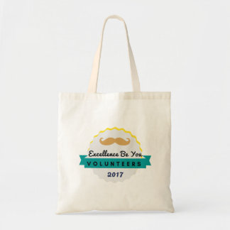 Excellence Volunteers Tote Mustache