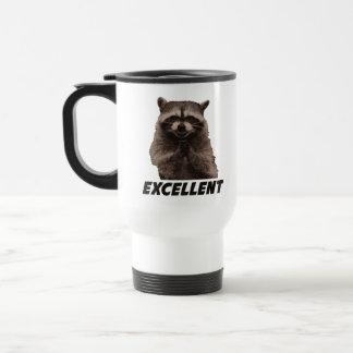 Excellent Evil Plotting Raccoon Travel Mug