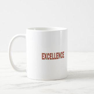 EXCELLENT EXCELLENCE Quality Achievement Topper Mug
