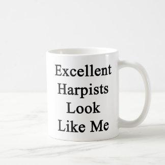 Excellent Harpists Look Like Me Coffee Mug