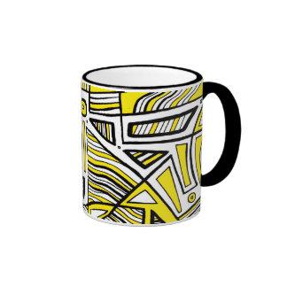 Excellent Joyful Delightful Clever Ringer Mug