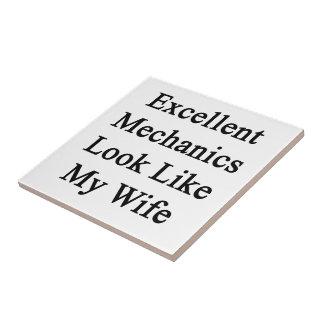 Excellent Mechanics Look Like My Wife Ceramic Tiles