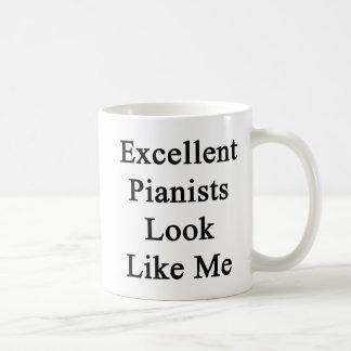 Excellent Pianists Look Like Me Mug
