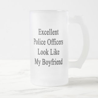 Excellent Police Officers Look Like My Boyfriend Mugs
