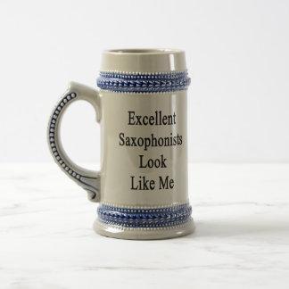 Excellent Saxophonists Look Like Me Mug