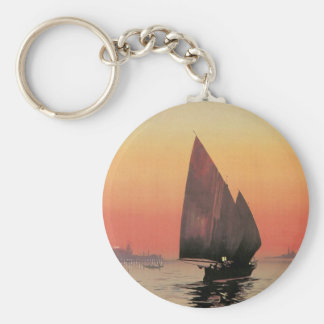 Excelsior Palace Hotel: Venise-Lido Basic Round Button Key Ring