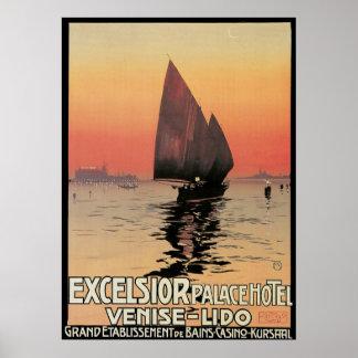 Excelsior Palace Hotel Venise Lido Print
