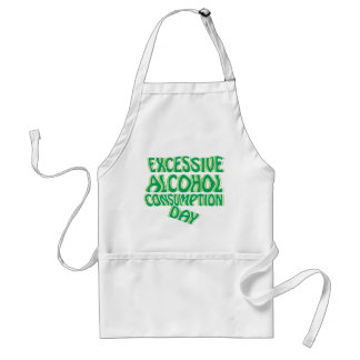 Excessive Alcohol Consumption Day Standard Apron