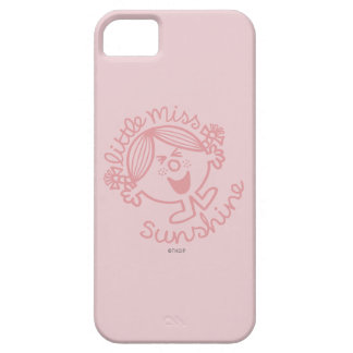Excitable Little Miss Sunshine Barely There iPhone 5 Case