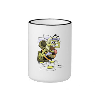 Excited Bee Mugs