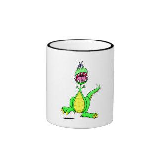 Excited Dinosaur Coffee Mug